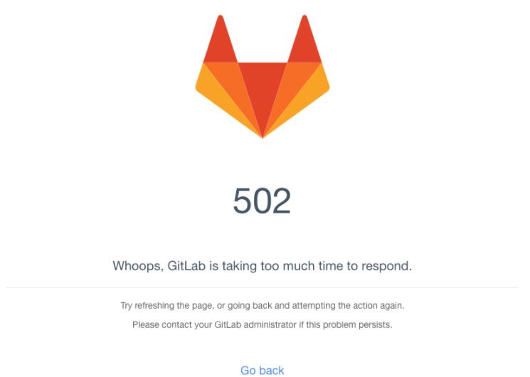 Gitlab после обновления не работает